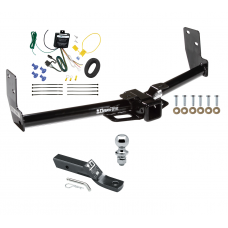 """Trailer Tow Hitch For 10-16 Cadillac SRX Complete Package w/ Wiring and 1-7/8"""" Ball"""