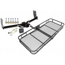 Trailer Tow Hitch For 10-16 Cadillac SRX Basket Cargo Carrier Platform Hitch Lock and Cover