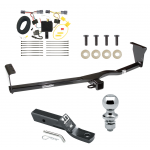 "Trailer Tow Hitch For 11-13 KIA Sorento Complete Package w/ Wiring and 1-7/8"" Ball"