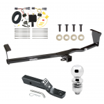 "Trailer Tow Hitch For 11-13 KIA Sorento 4 Cyl. I4 Complete Package w/ Wiring and 2"" Ball"
