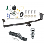 "Trailer Tow Hitch For 11-13 KIA Sorento EX V6 Complete Package w/ Wiring and 1-7/8"" Ball"