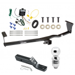 """Trailer Tow Hitch For 11-13 KIA Sorento EX V6 Complete Package w/ Wiring and 2"""" Ball"""