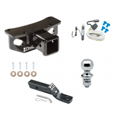 """Trailer Tow Hitch For 10-19 Lexus GX460 Complete Package w/ Wiring and 1-7/8"""" Ball"""