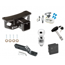 """Trailer Tow Hitch For 10-19 Lexus GX460 Deluxe Package Wiring 2"""" Ball and Lock"""