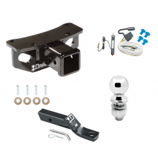 """Trailer Tow Hitch For 10-19 Lexus GX460 Complete Package w/ Wiring and 2"""" Ball"""