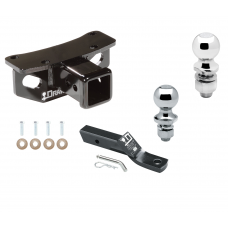 """Trailer Tow Hitch For 10-19 Lexus GX460 Receiver w/ 1-7/8"""" and 2"""" Ball"""