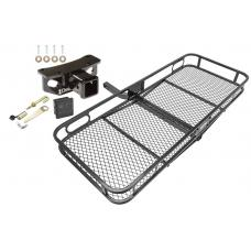Trailer Tow Hitch For 10-19 Lexus GX460 Basket Cargo Carrier Platform Hitch Lock and Cover