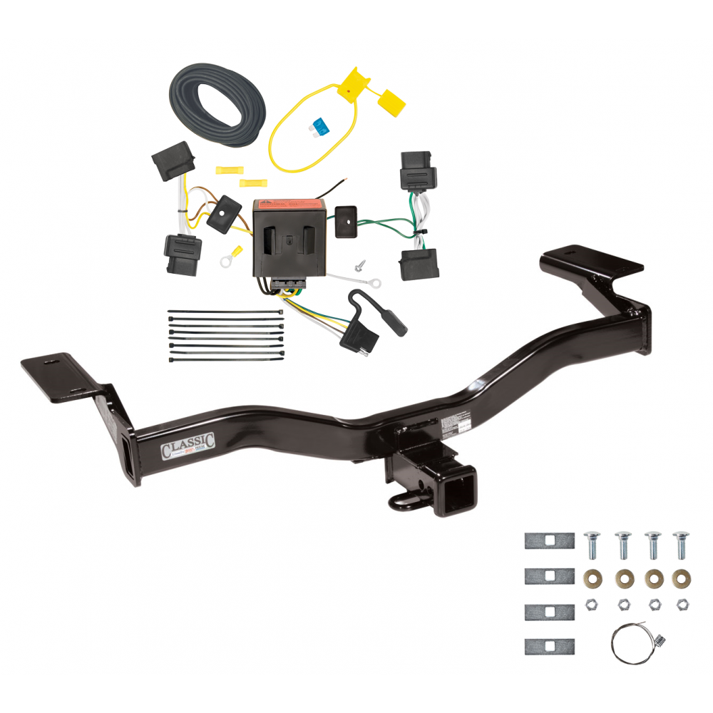 Trailer Tow Hitch For 09-10 Ford Edge Sport w/ Wiring Harness Kit on ford edge roof rack, ford edge cold air intake, ford edge trailer fuses, ford edge trailer hitch, ford truck trailer wiring, ford edge seat covers, ford edge brakes, ford edge cargo mat, 99 ford trailer harness, ford escape drivetrain layout, ford edge tires, ford f-250 trailer plug, ford trailer plug wiring diagram, ford edge wiring diagrams, ford f-350 trailer wiring diagram, ford edge engine diagram, ford edge hitch wiring, ford trailer plug harness, ford escape fuse box diagram,