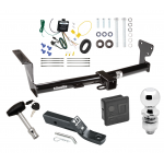 """Trailer Tow Hitch For 08-14 Land Rover LR2 Deluxe Package Wiring 2"""" Ball and Lock"""