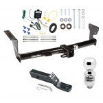 """Trailer Tow Hitch For 08-14 Land Rover LR2 Complete Package w/ Wiring and 2"""" Ball"""