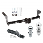 """Trailer Tow Hitch For 08-14 Land Rover LR2 Receiver w/ 1-7/8"""" and 2"""" Ball"""