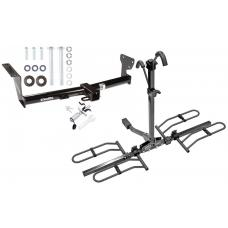 Trailer Tow Hitch For 08-14 Land Rover LR2 Platform Style 2 Bike Rack w/ Anti Rattle Hitch Lock