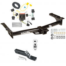 """Trailer Tow Hitch For 08-14 Ford Van E150 E250 E350 Complete Package w/ Wiring and 2"""" Ball"""