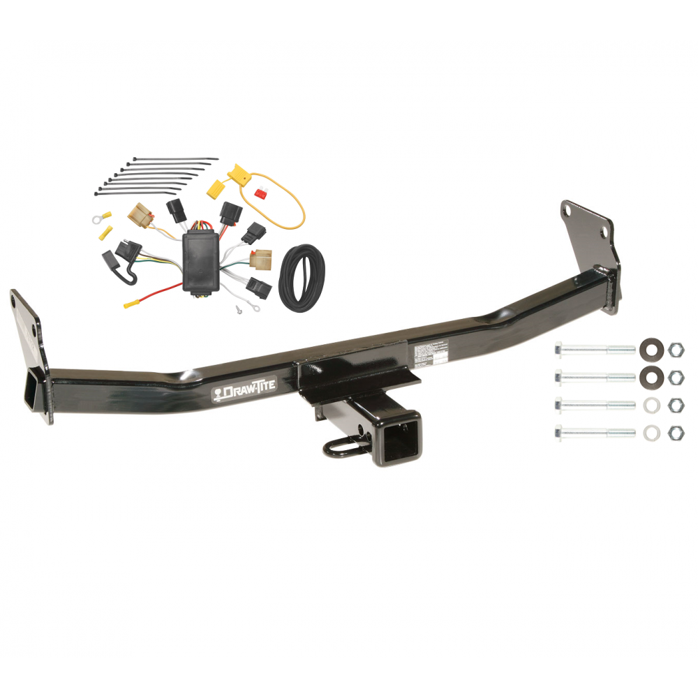 trailer tow hitch for 07 10 jeep compass 07 patriot w. Black Bedroom Furniture Sets. Home Design Ideas