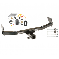 Trailer Tow Hitch For 07-10 Jeep Compass 07 Patriot w/ Wiring Harness Kit