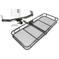 Trailer Tow Hitch For 07-17 Jeep Compass Jeep Patiot Basket Cargo Carrier Platform w/ Hitch Pin