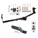 "Trailer Tow Hitch For 11-16 Nissan Quest Complete Package w/ Wiring and 2"" Ball"