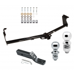 """Trailer Tow Hitch For 11-16 Nissan Quest Receiver w/ 1-7/8"""" and 2"""" Ball"""