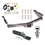 "Trailer Tow Hitch For 12-18 Nissan NV1500 NV2500 NV3500 Complete Package w/ Wiring and 1-7/8"" Ball"
