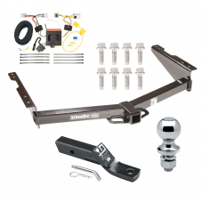 "Trailer Tow Hitch For 12-20 Nissan NV1500 NV2500 NV3500 Complete Package w/ Wiring and 1-7/8"" Ball"