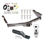 "Trailer Tow Hitch For 12-18 Nissan NV1500 NV2500 NV3500 Complete Package w/ Wiring and 2"" Ball"