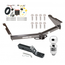 "Trailer Tow Hitch For 12-20 Nissan NV1500 NV2500 NV3500 Complete Package w/ Wiring and 2"" Ball"