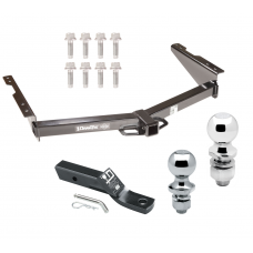 """Trailer Tow Hitch For 12-18 Nissan NV1500 NV2500 NV3500 Receiver w/ 1-7/8"""" and 2"""" Ball"""