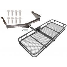 Trailer Hitch For 12-19 Nissan NV1500 NV2500 NV3500 Basket Cargo Carrier Platform w/ Hitch Pin