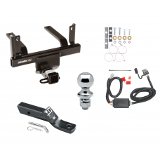 "Trailer Tow Hitch For 11-14 Subaru Tribeca Complete Package w/ Wiring and 1-7/8"" Ball"