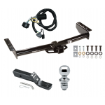 """Trailer Tow Hitch For 00-06 Chevy GMC Tahoe Yukon XL Denali Suburban 1500 2500 Complete Package w/ Wiring and 1-7/8"""" Ball"""