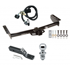 "Trailer Tow Hitch For 00-06 Chevy GMC Tahoe Yukon XL Denali Suburban 1500 2500 Complete Package w/ Wiring and 1-7/8"" Ball"