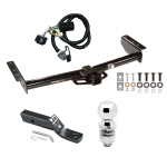 """Trailer Tow Hitch For 00-06 Chevy GMC Tahoe Yukon XL Denali Suburban 1500 2500 Complete Package w/ Wiring and 2"""" Ball"""