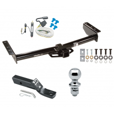 "Trailer Tow Hitch For 02-06 Chevy Avalanche 1500 2500 02 Cadillac Escalade Complete Package w/ Wiring and 1-7/8"" Ball"