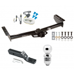 """Trailer Tow Hitch For 02-06 Chevy Avalanche 1500 2500 02 Cadillac Escalade Complete Package w/ Wiring and 2"""" Ball"""