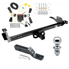 "Trailer Tow Hitch For 08-12 Toyota Hilux Complete Package w/ Wiring and 1-7/8"" Ball"