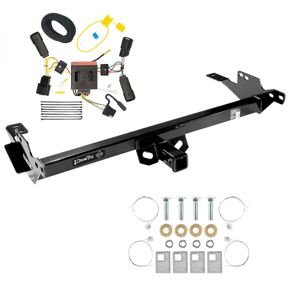 Trailer Tow Hitch For 08-12 Toyota Hilux w/ Wiring Harness ...Trailer Jacks