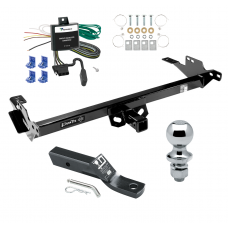 "Trailer Tow Hitch For 13-14 Toyota Hilux Complete Package w/ Wiring and 1-7/8"" Ball"