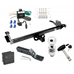 """Trailer Tow Hitch For 13-14 Toyota Hilux Deluxe Package Wiring 2"""" Ball and Lock"""
