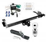 """Trailer Tow Hitch For 13-14 Toyota Hilux Complete Package w/ Wiring and 2"""" Ball"""