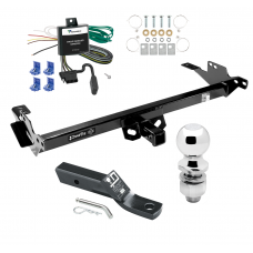 "Trailer Tow Hitch For 13-14 Toyota Hilux Complete Package w/ Wiring and 2"" Ball"