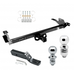"""Trailer Tow Hitch For 08-14 Toyota Hilux Receiver w/ 1-7/8"""" and 2"""" Ball"""