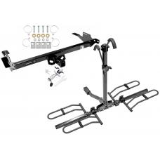 Trailer Tow Hitch For 08-14 Toyota Hilux Platform Style 2 Bike Rack w/ Anti Rattle Hitch Lock