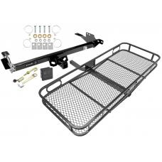 Trailer Tow Hitch For 08-14 Toyota Hilux Basket Cargo Carrier Platform Hitch Lock and Cover