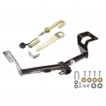 """Trailer Tow Hitch For 12-16 Honda CR-V All Styles Class 3 2"""" Towing Receiver New w/ J-Pin Anti-Rattle Lock"""