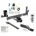 "Trailer Tow Hitch For 13-14 BMW X1 w/Panoramic Moonroof Complete Package w/ Wiring and 1-7/8"" Ball"