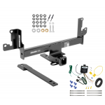 Trailer Tow Hitch For 13-14 BMW X1 w/Panoramic Moonroof w/ Wiring Harness Kit