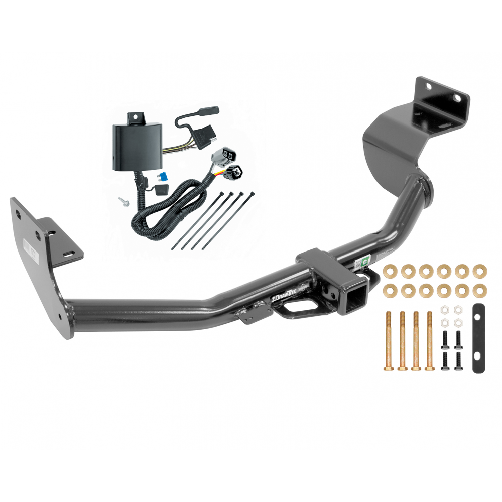 Trailer Tow Hitch For 14  V6 Engine W
