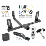 """Trailer Tow Hitch For 10-15 Mercedes-Benz GLK350 Deluxe Package Wiring 2"""" Ball and Lock"""