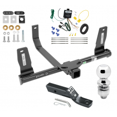 "Trailer Tow Hitch For 10-15 Mercedes-Benz GLK350 Complete Package w/ Wiring and 2"" Ball"
