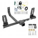 Trailer Tow Hitch For 10-15 Mercedes-Benz GLK350 w/ Wiring Harness Kit